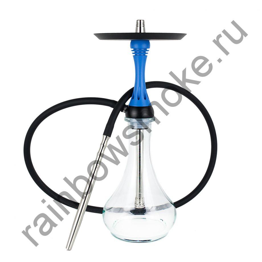 Кальян Alpha Hookah Model X Blue Matte (Альфа Хука Модель Х Синий Матовый)