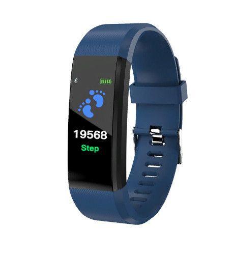 Фитнес-браслет Yoho Sport 115 plus, синий