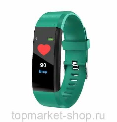 Фитнес-браслет Yoho Sport 115 plus, зеленый