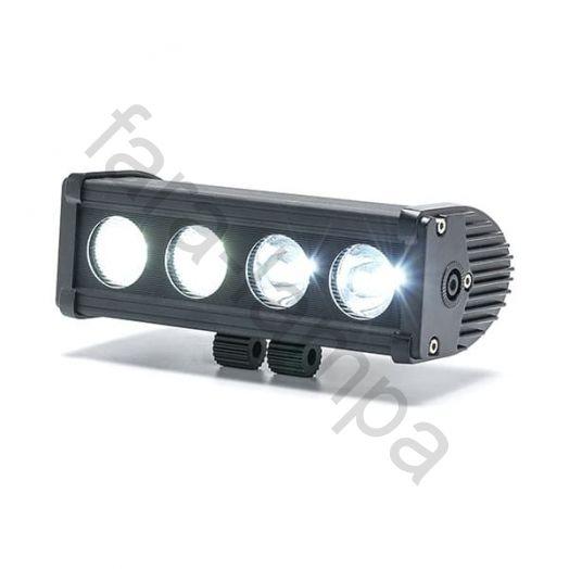 Однорядная светодиодная балка 40 ватт Дальний свет (200 мм)