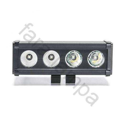 Однорядная светодиодная балка-фара 40 ватт Ближний свет (длина 200 мм)