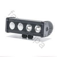 Однорядная светодиодная балка-фара 40 ватт комбинированный свет (длина 200 мм)