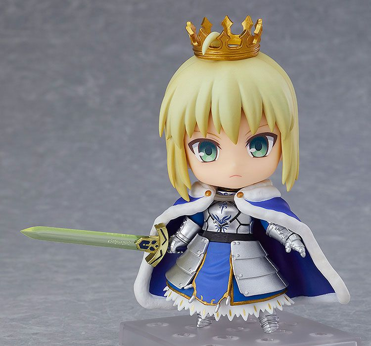 Nendoroid Saber Altria Pendragon True Name Revealed Ver.
