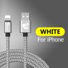 Кабель для IPhone 25см белый