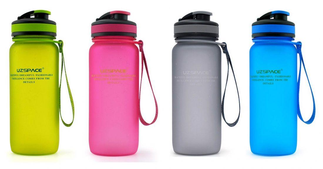 Бутылка для воды с сеткой UZSPACE 3030 650мл