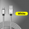 USB - кабель (USB - microUSB) 2м белый