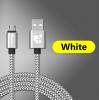USB - кабель (USB - microUSB) 25 см белый