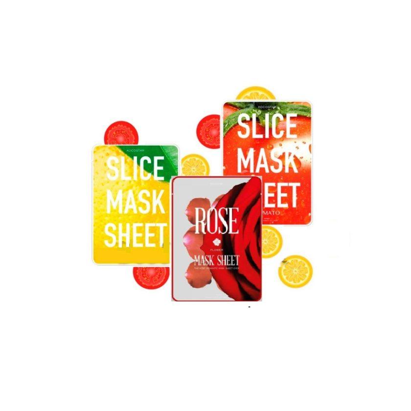 Маска-слайс для лица тканевая успокаивающая Berrisom G9 Slice Mask Sheet 10мл
