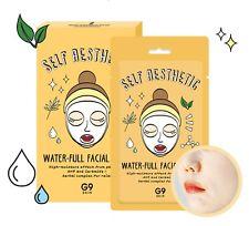 G9  Маска для лица тканевая увлажняющая G9 Self Aesthetic Waterful Facial Mask 23мл
