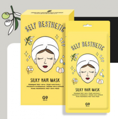 G9  Маска для волос G9 Self Aesthetic Silky Hair Mask 30гр