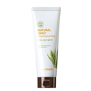 THE SAEM DAILY Маска для лица пшеничная Natural Daily Wheat Sprout Pack 120гр