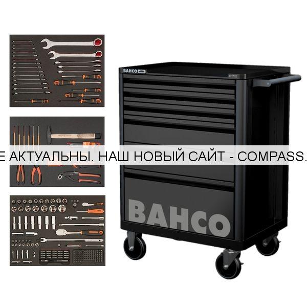 Тележка 6 ящиков с инструментом 216 предметов, BAHCO