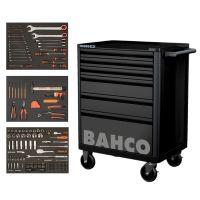 Тележка 6 ящиков с инструментом 216 предметов BAHCO (Швеция)