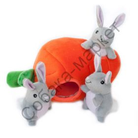 Игрушка-головоломка Зайчики в морковке