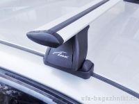 Багажник на крышу BMW 1-serie E87, Lux, крыловидные дуги