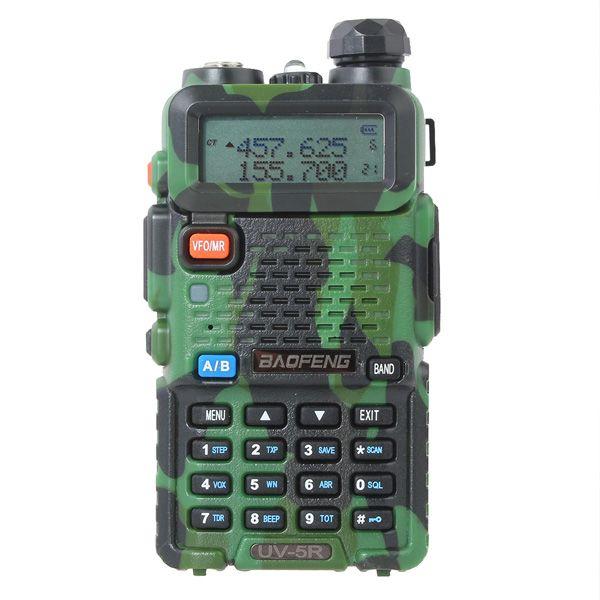 Рация Baofeng UV-5R камуфляж / зеленая 8 Ватт
