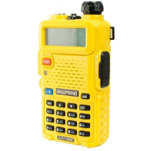 Рация Baofeng UV-5R желтая 8 Ватт