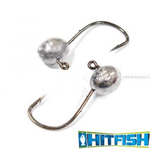 Джиг головка Hitfish Micro Jig № 2 / 3гр (5шт в уп)