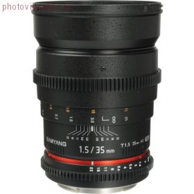 Объектив SAMYANG-Rokinon MF 35mm T1.5 Cine AS IF UMC m4/3