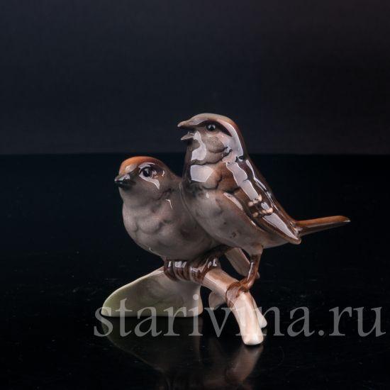 Изображение Воробьи, миниатюра, Goebel, Германия