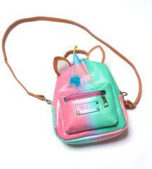 Мини рюкзак «Mochila» в единорожном стиле