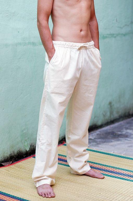 LONG Прямые штаны из органического хлопка, длина 110 см (Москва)