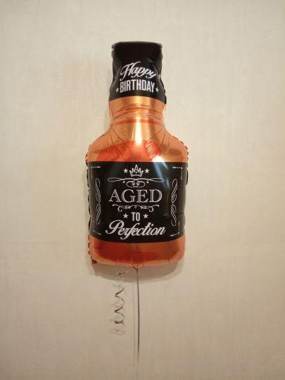 Виски фольгированный шар с гелием