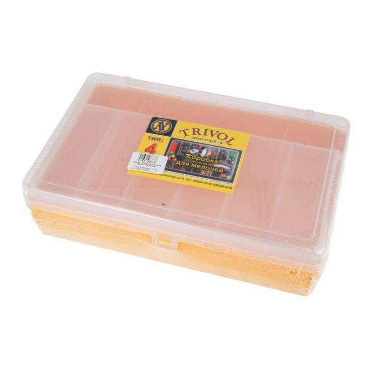 Коробка    Тривол тип 4 (желт) с микролифт