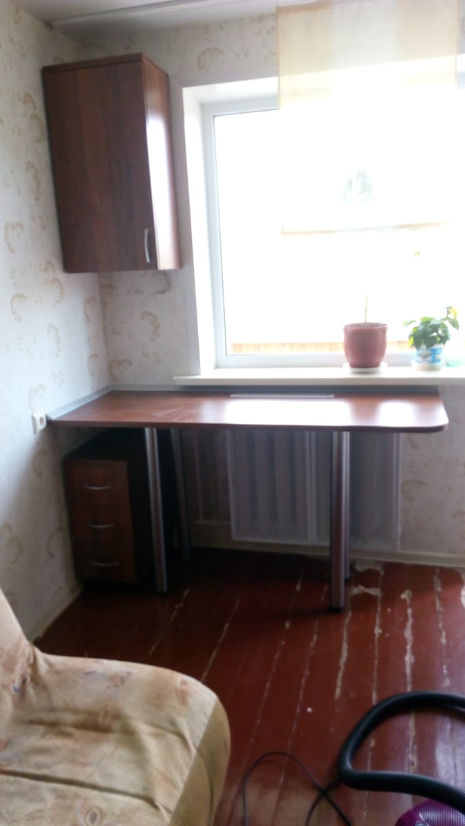 Комплект Стол+Тумба+Навесной шкаф
