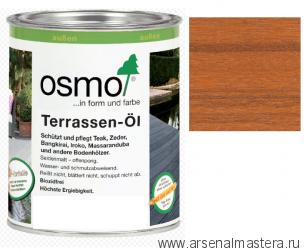 Масло для террас Osmo 006 Terrassen-Ole для бангкирай Натуральный тон 0,75л
