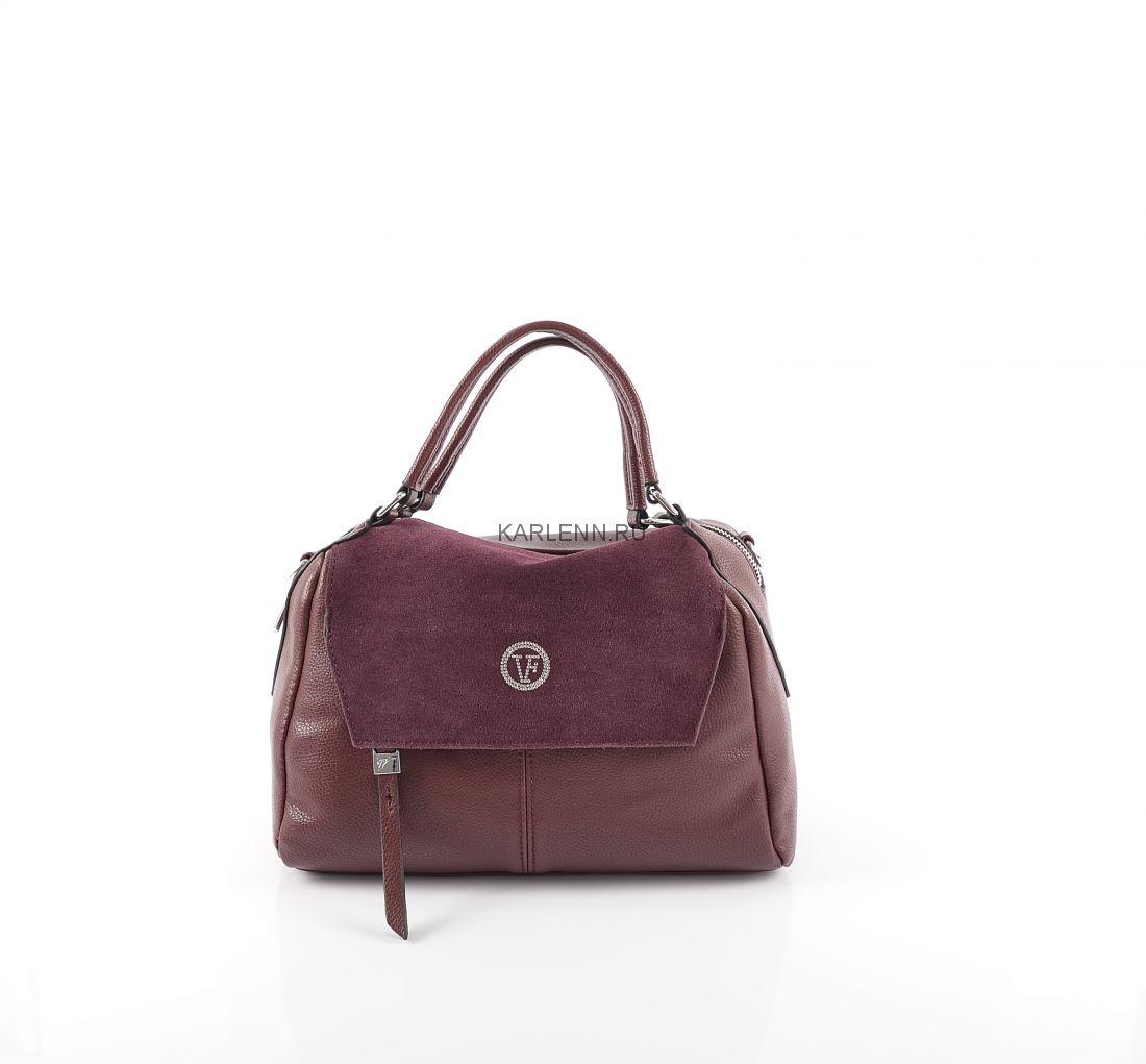 Мини-сумочка Velina Fabbiano (бордовая)