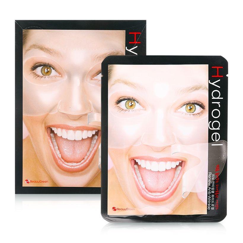 BeauuGreen Антивозрастная гидрогелевая маска для лица