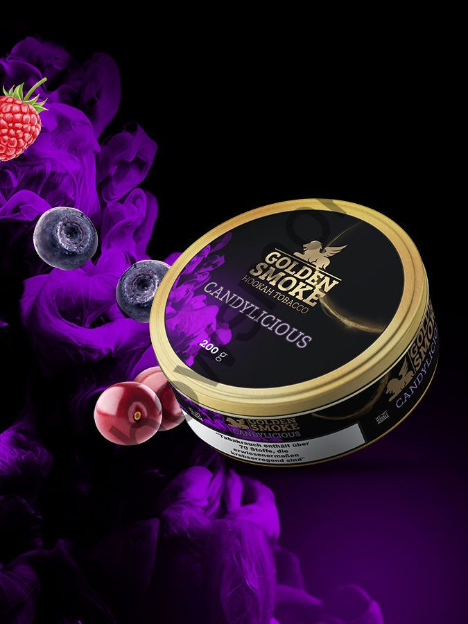Golden Smoke Signature 200 гр - Candylicious (Кэндилициоус)