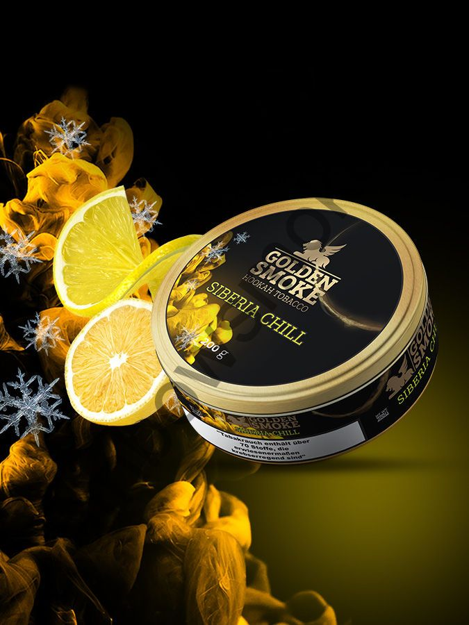 Golden Smoke Signature 200 гр - Siberia Chill (Сибирский Холод)