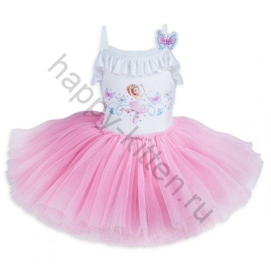 Платье балерины Нэнси Клэнси Дисней 116 см.