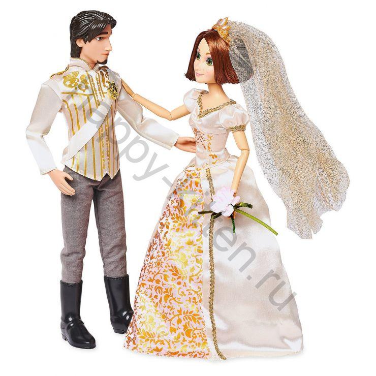 Свадебный набор кукол Рапунцель и Флин Райдер Юджин