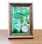 Настольные часы «КРЫМСКИЙ МОСТ», вариант 2
