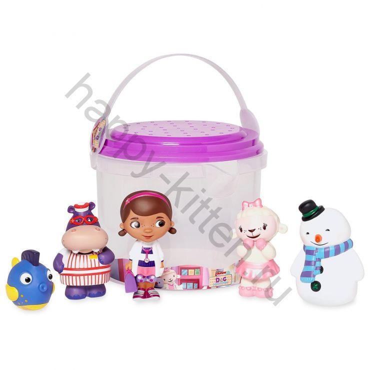 Набор игрушек для ванной Доктор Плюшева Дисней
