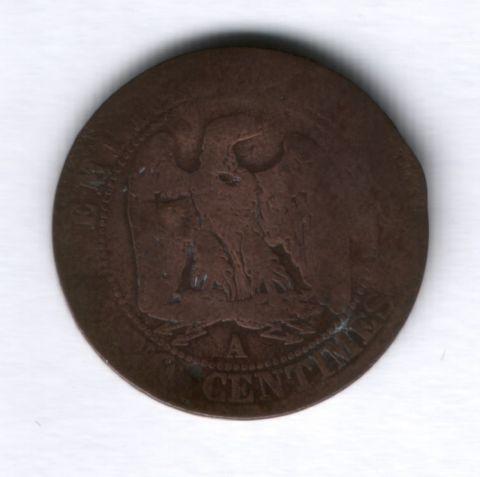 5 сантимов 1854 года Франция