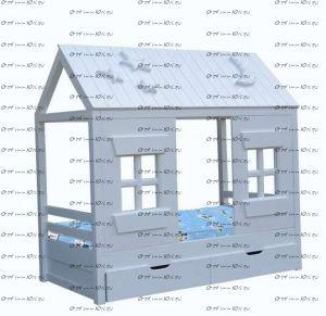 Кровать-Домик-2 №В