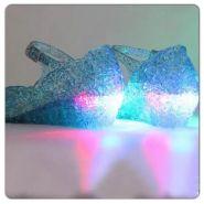 Туфли босоножки Эльзы из мультфильма  Холодное сердце светодиодные
