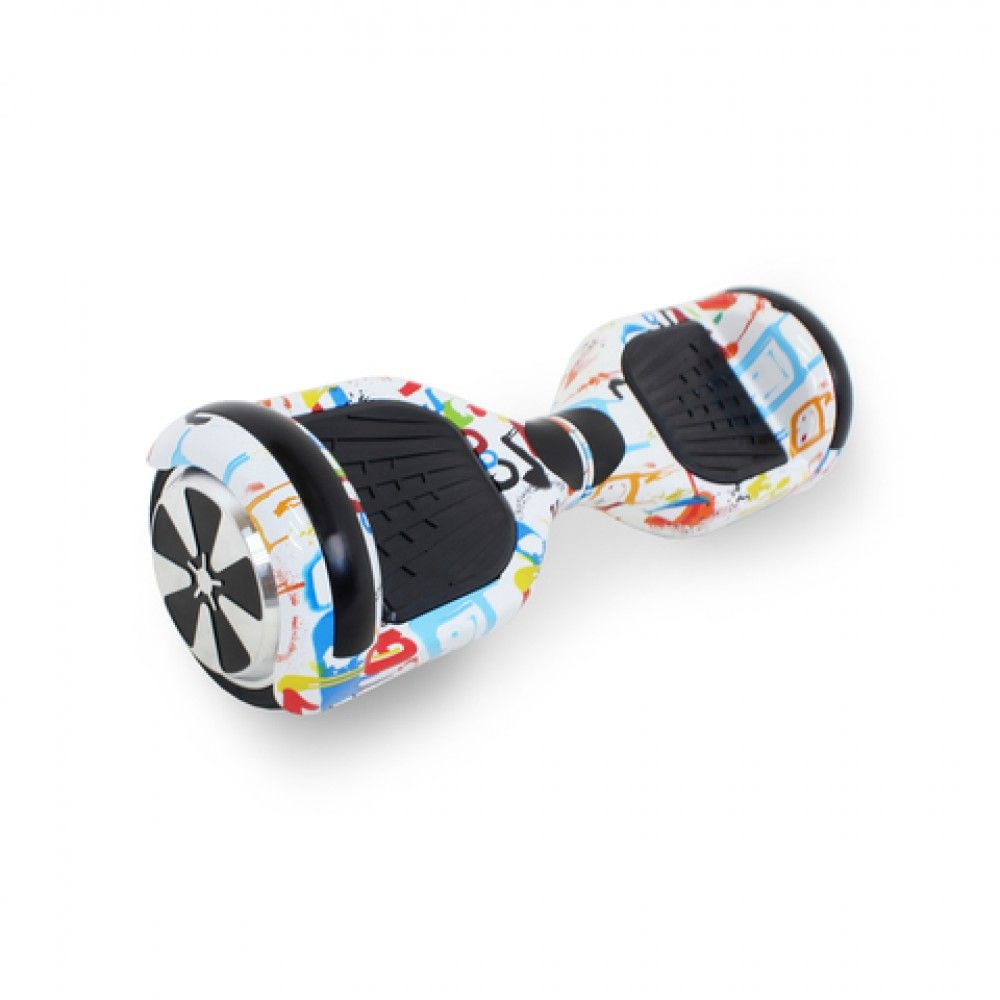 Гироскутер Hoverbot A-3 LED LIGHT White Multicolor