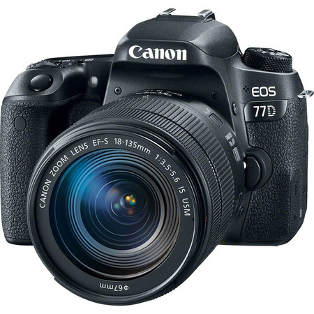 Canon EOS 77D Kit 18-135 IS STM