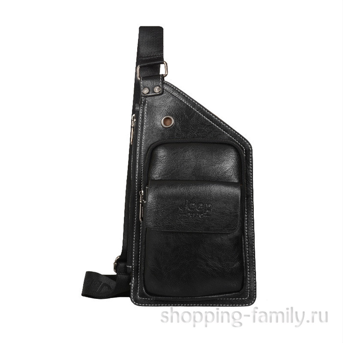 Мужская сумка Jeep Buluo, черная