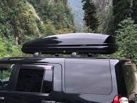 Автомобильный бокс на крышу Koffer A-480, 480 литров, черный глянец