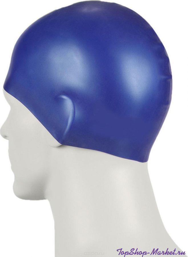 Силиконовая шапочка для плавания Afiter, Цвет: Белый