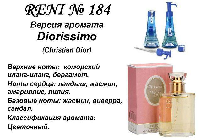духи Reni № 184