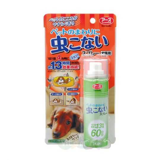 Earth Biochemical Спрей для собак и кошек против насекомых, 50 мл