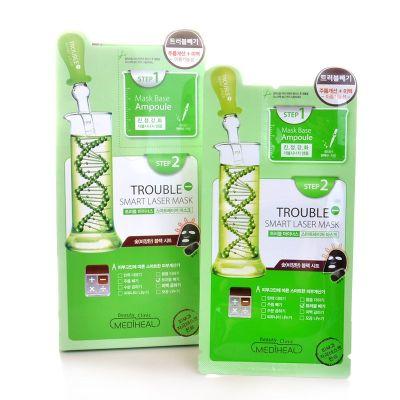Mediheal Маска для проблемной кожи лица двухшаговая, 1*3мл., 1*25мл