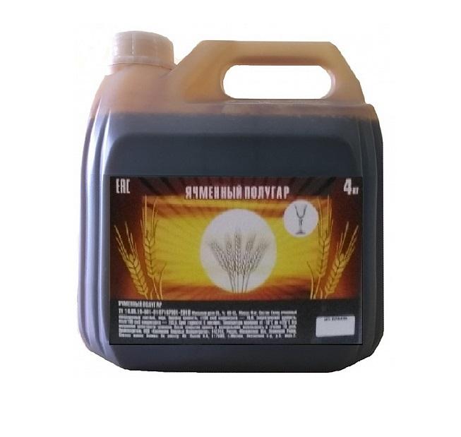 Солодовый концентрат Ячменный полугар, 4 кг канистра